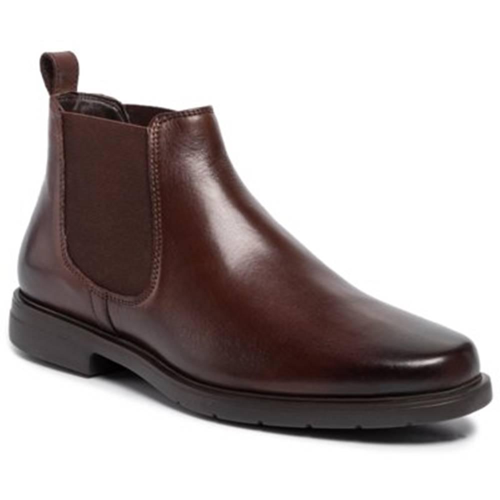 Členkové topánky Lasocki for men MI07-A775-A601-03 pokrytá iným materiálom