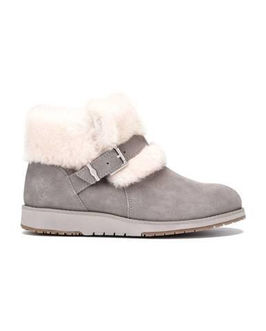 Sivé zimná obuv Emu Australia