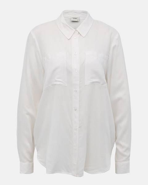 Biela košeľa Jacqueline de Yong
