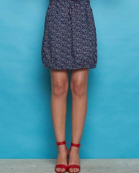 Tmavomodrá sukňa Tranquillo