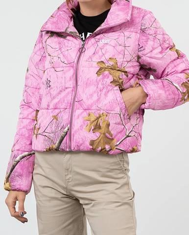 Ružová bunda Vans