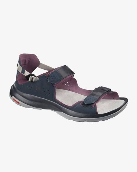 Modré sandále Salomon