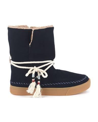 Modré zimná obuv TOMS