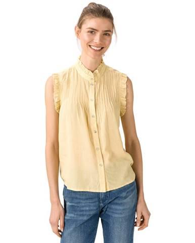 Žltá blúzka Vero Moda