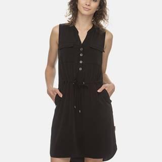 Čierne šaty Ragwear Roisin