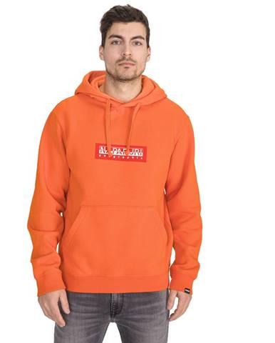 Oranžová bunda s kapucňou Napapijri