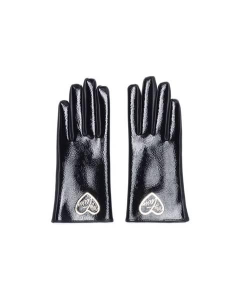 Čierne rukavice Twinset