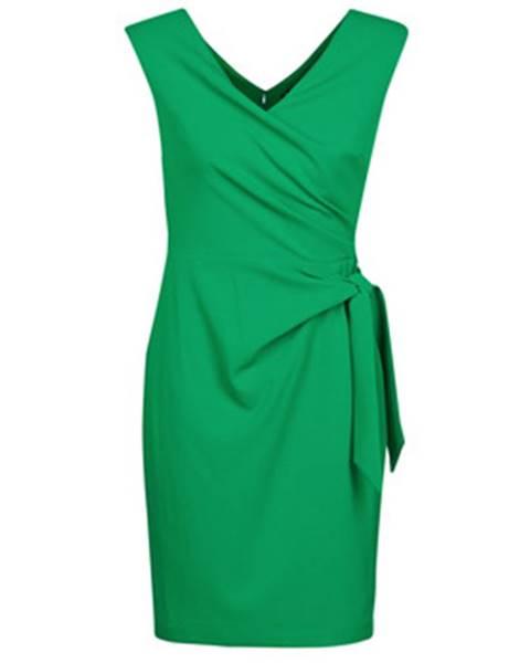Zelené minišaty Lauren Ralph Lauren
