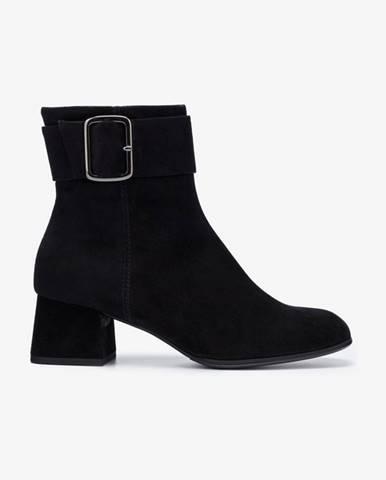 Čierne členková obuv Högl