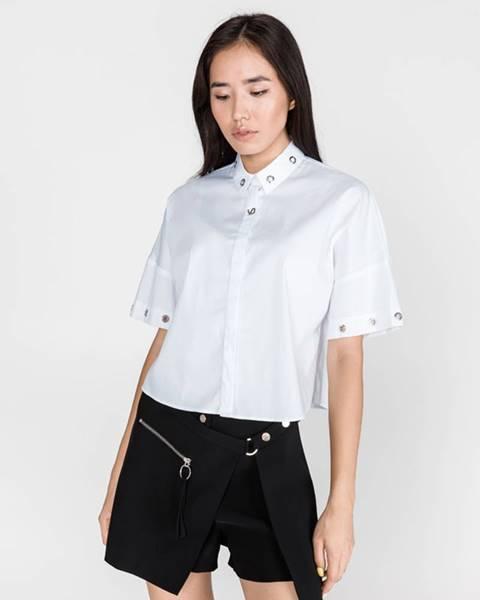 Biela košeľa Versace Jeans
