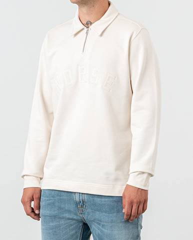 Biela mikina Norse Projects