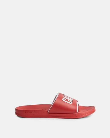 Červené sandále Calvin Klein Underwear