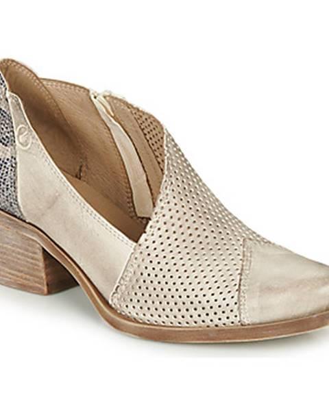 Béžové topánky Casta