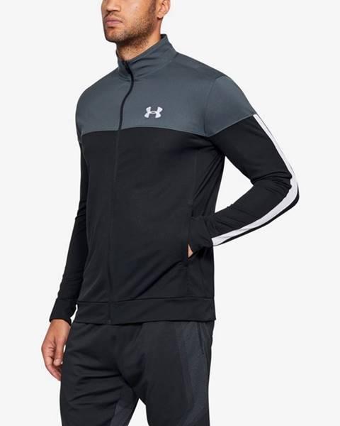 Čierna bunda bez kapucne Under Armour