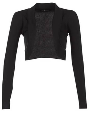Čierna bunda Morgan