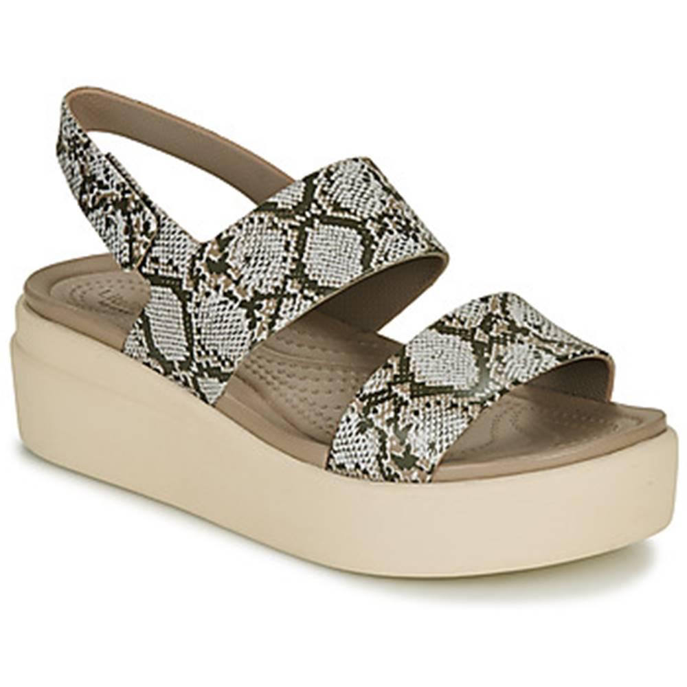 Crocs Sandále Crocs  CROCS BROOKLYN LOW WEDGE W
