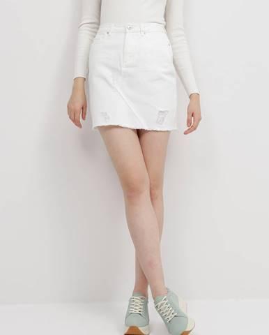 Biela sukňa Jacqueline de Yong