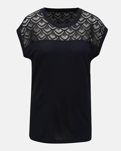 Tmavomodré tričko Only