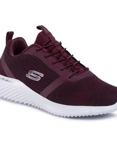 Bordové topánky Skechers