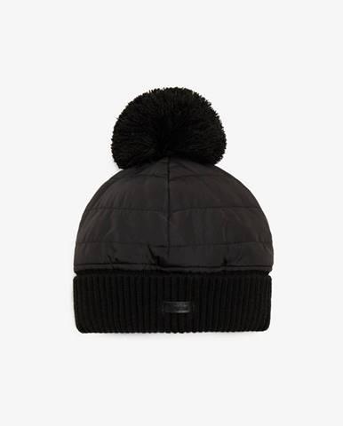 Čierna čiapka Trussardi Jeans