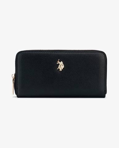 Čierna peňaženka U.S. Polo Assn