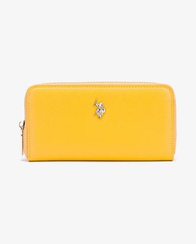 Žltá peňaženka U.S. Polo Assn