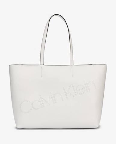 Biela kabelka Calvin Klein