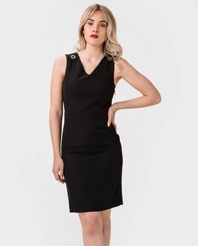 Čierna sukňa Trussardi Jeans