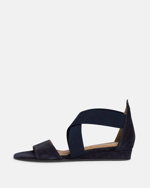 Tmavomodré sandále Tamaris