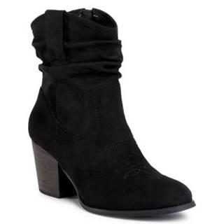 Členkové topánky Jenny Fairy WS19226-02 Materiał tekstylny