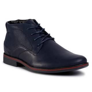 Šnurovacia obuv Lanetti M16SS025-21 koža ekologická