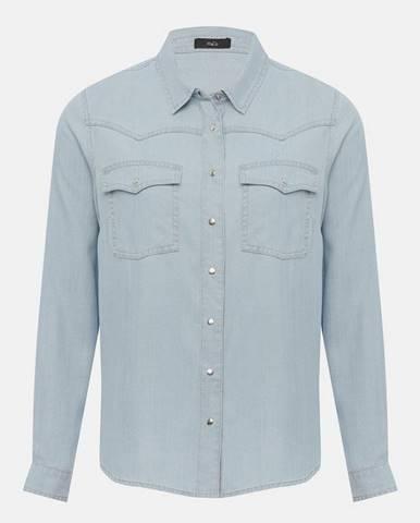 Svetlomodrá košeľa M&Co