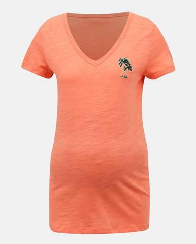 Oranžové tričko Mama.licious