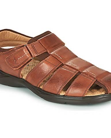 Hnedé sandále Fluchos