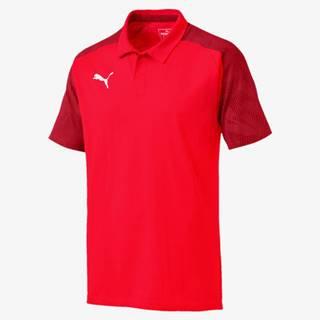 Puma Cup Sideline Polo tričko Červená