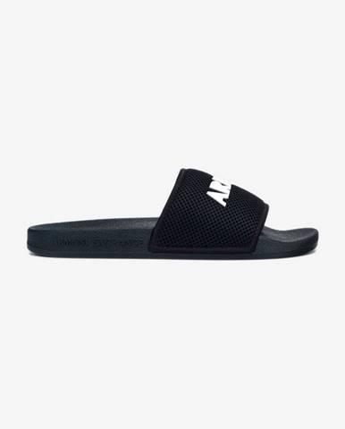 Modré sandále Armani Exchange
