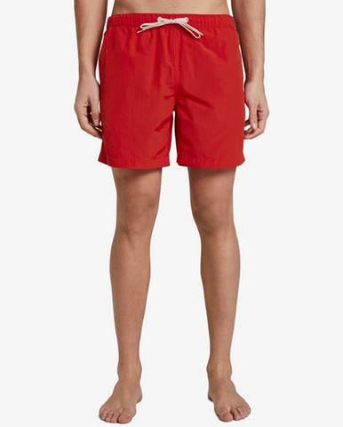Červené plavky Tom Tailor