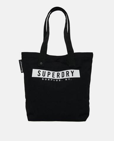 Čierna kabelka Superdry