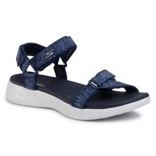 Sandále Skechers 15315 NVW Materiał tekstylny