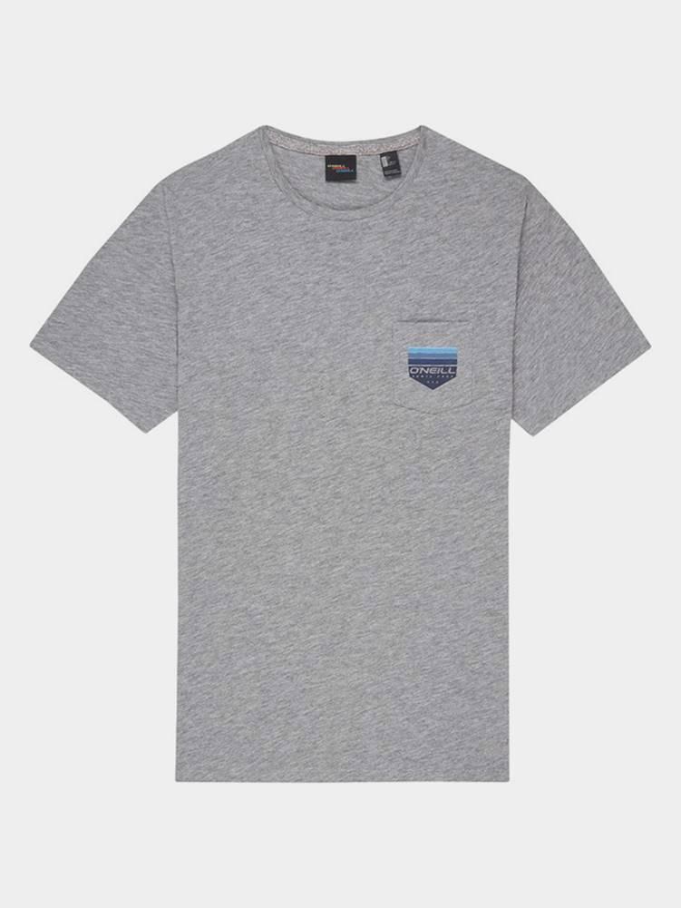 O'Neill Tričko O´Neill Lm Gradient Pocket T-Shirt Šedá