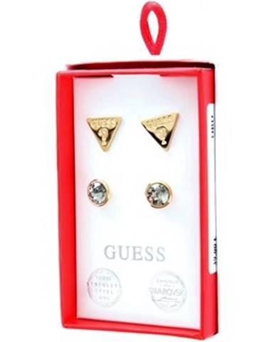 Zlaté náušnice Guess