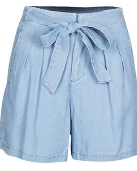 Modré šortky Vero Moda