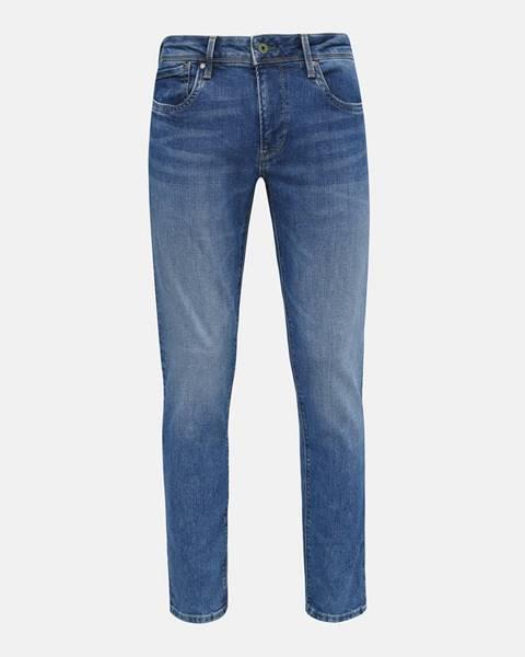 Modré rifle Pepe jeans