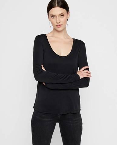 Čierne tričko Pieces