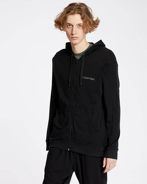 Čierna mikina Calvin Klein